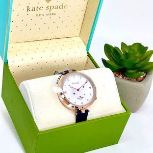 NWT KATE SPADE Holland Navy Hybrid Watch KST23202